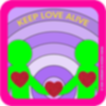 hoshi-hana_keep-love-alive_sticker_squar