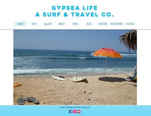 WEBSITE: GYPSEA LIFE SURF & TRAVEL COMPANY