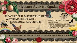 FACEBOOK EVENT BANNER: PLEASURE ACTIVIST SUNDAY