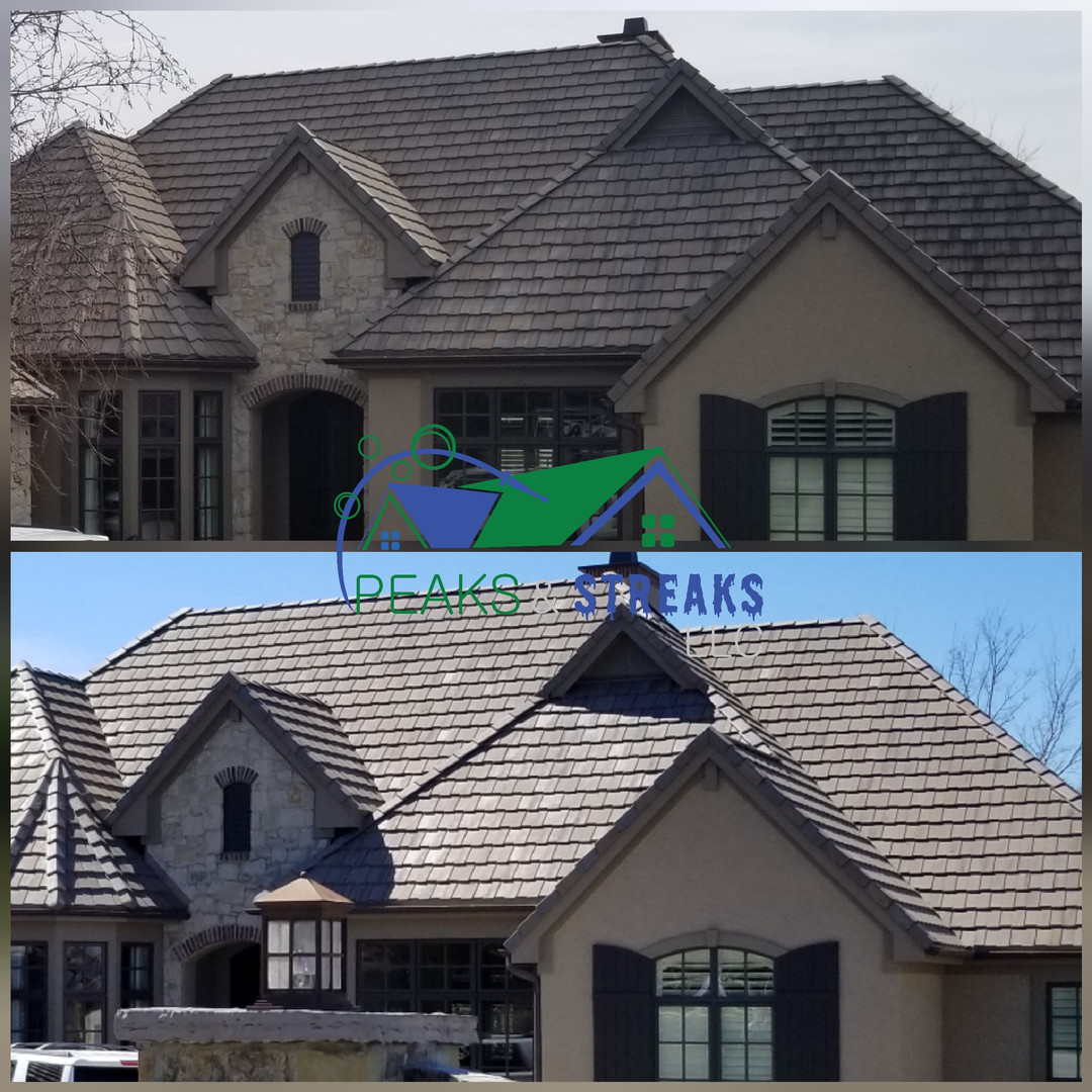 Concrete Tile Roof Cleaning
