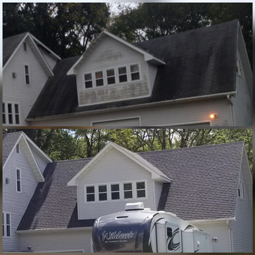 Roof and House