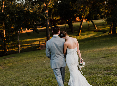 Shelby & Shawn // Intimate Backyard Wedding