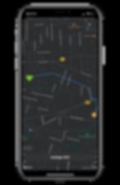 Visuel Permis de Sauver guidage GPS défibrillateur