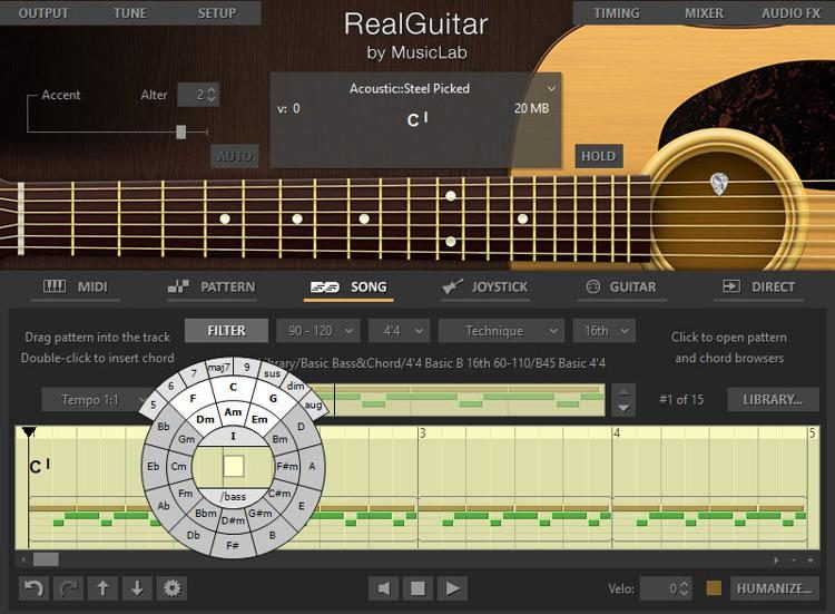 RealGuitar by Music Lab