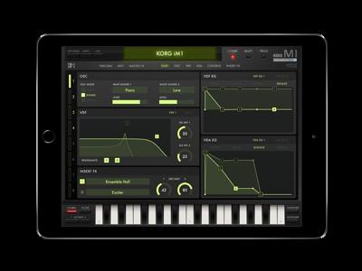 iOS Korg M1