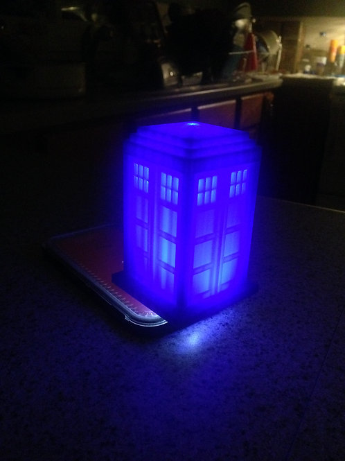 Dr. Who Tardis (light not included)