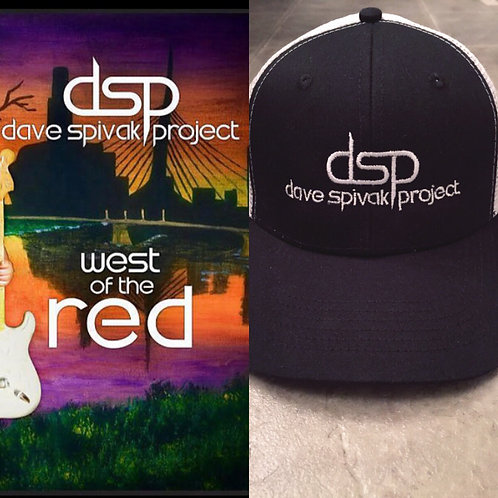dsp CD and Ball Cap Combo
