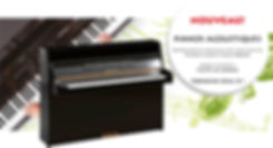 Pianos acoustiques Yamaha Thonville