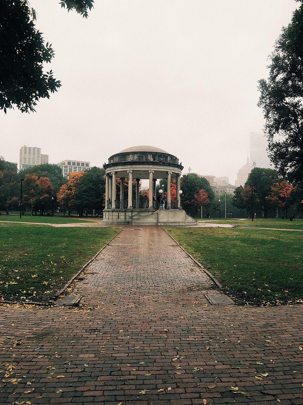 Boston Common. Boston, MA International Students in US blog, alien thoughts