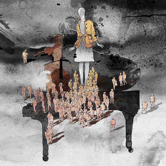 "Roslavets ""Klavírne trio č. 3"""