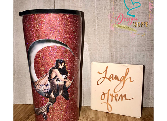 20 oz Red Fairy Tumbler