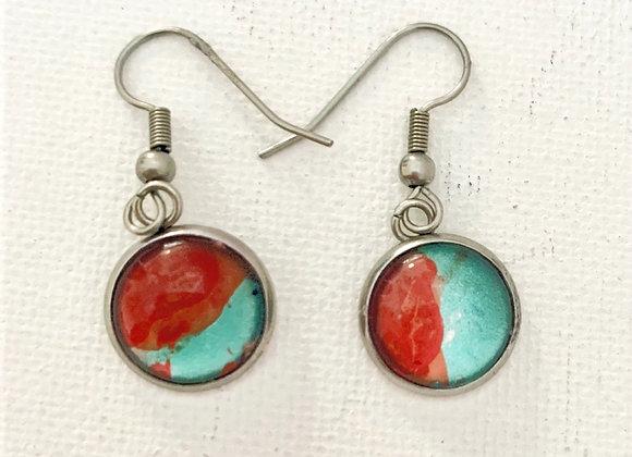 Red Canyon Dangle Earrings