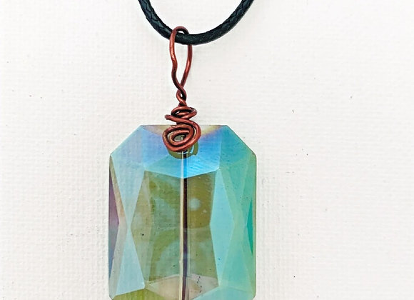 Multi Angled Prism Necklace