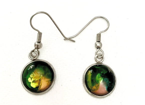 Dragon Breath Dangle Earring