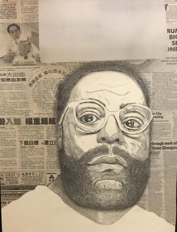 Demetri Fisher Art - self portrait 2