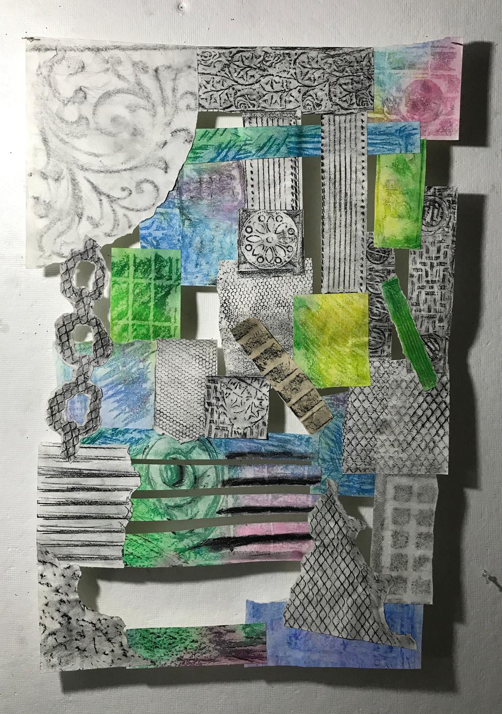 Demetri Fisher art - collage