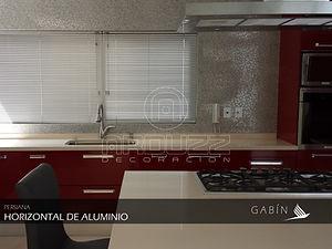 Persianas Horizontales de Aluminio. Persianas GABIN, Leon Guanajuato.