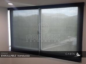 Persianas Enrollables traslucida. Persianas GABIN, Leon Guanajuato.