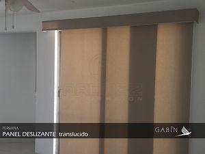 Persianas Panel Deslizante Japones. Persianas GABIN, Leon Guanajuato.