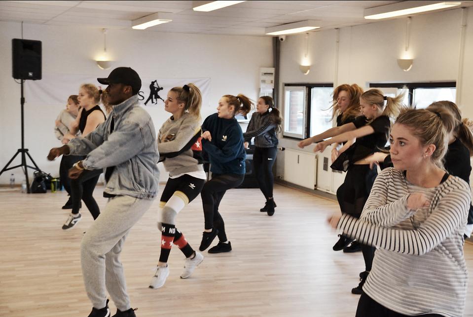 Cph Academy bliver undervist i Hip Hop af et af landets bedste danseinstruktører