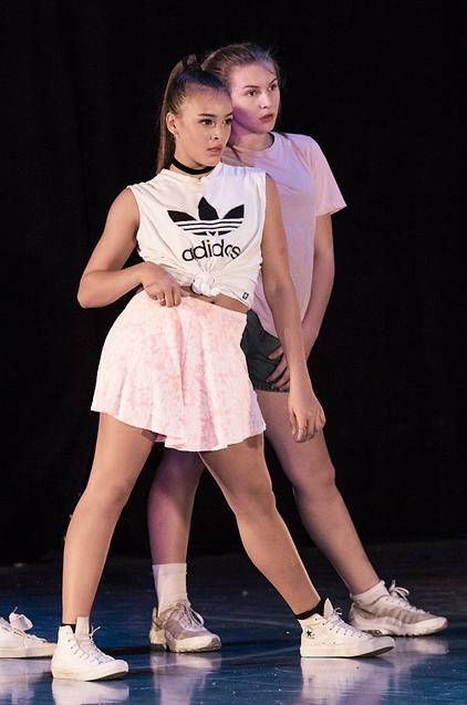 Elev på Cph Academy danseuddannelse