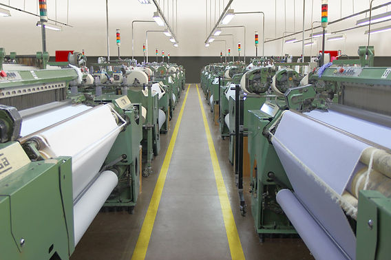 Foto interna da fábrica