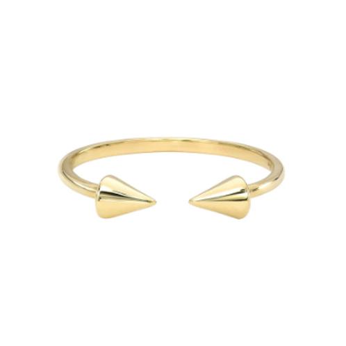 Spike Cuff Ring