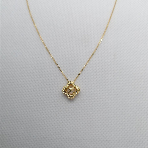Sorosky Pendant with Gold Chain