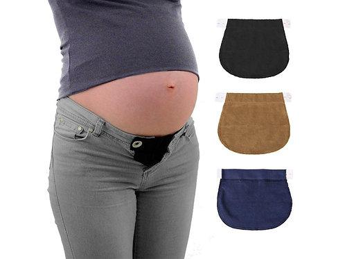 Set 3 extensores para pantalón bandas de maternidad