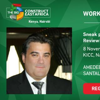 Amedee Santalo VIP Speaker in BIG5 Construction Nairobi