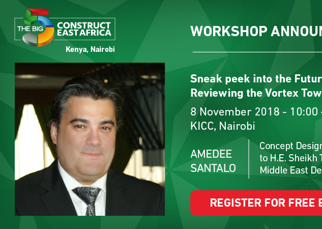 Amedee Santalo VIP Speaker in BIG5 Construction Nairobi