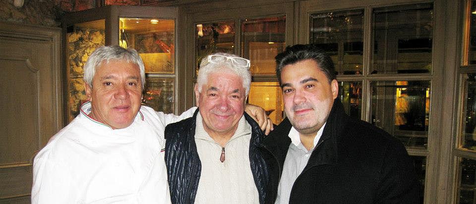 Amedee Santalo with Mamo and Novaro