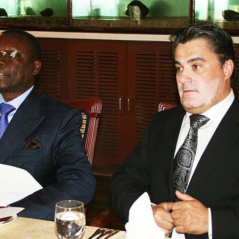 Amedee Santalo & Pierre Goudiaby Atepa