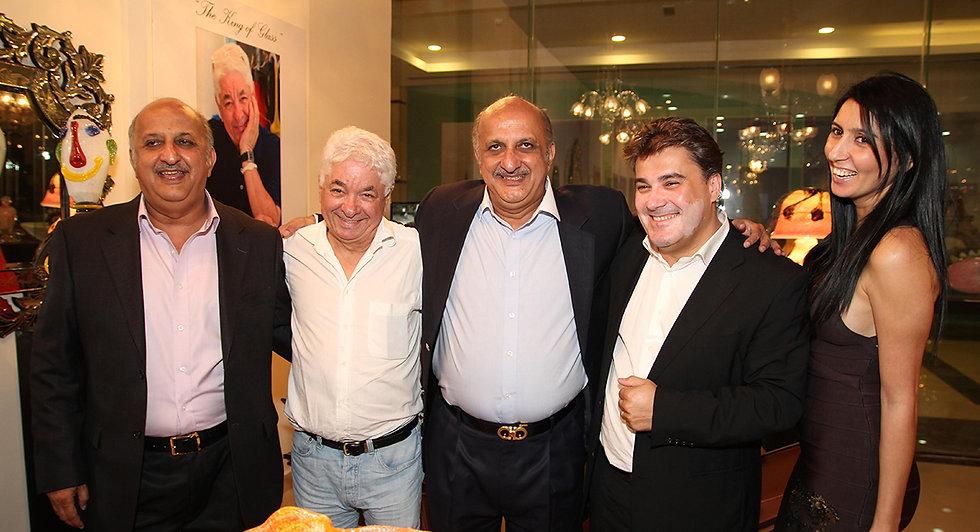 Amedee Santalo in Novaro Dubai event