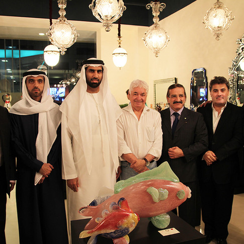 Amédée Santalo organised a Novaro Event in Dubai - UAE