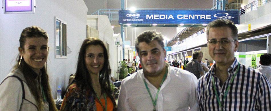 Amedee Santalo in Doha Moto GP