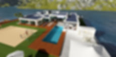 Floating Villa by Triton Enterprise