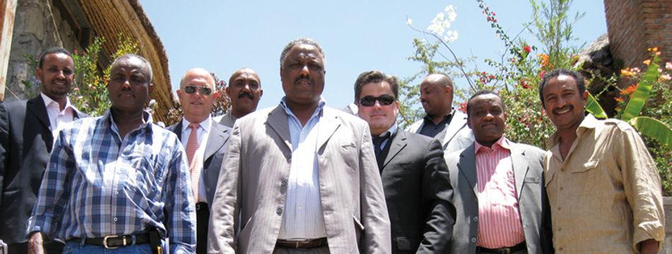Amedee Santalo in Garden City Ethiopia