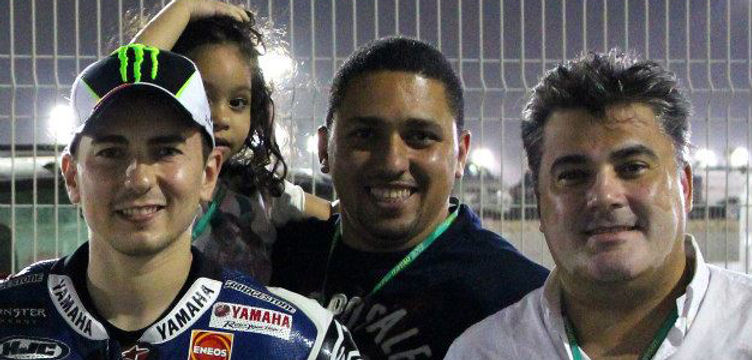 Amedee Santalo invited by Cosentino Group to Doha moto GP