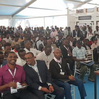 Amedee Santalo VIP Speaker in BIG5 Construction Nairobig