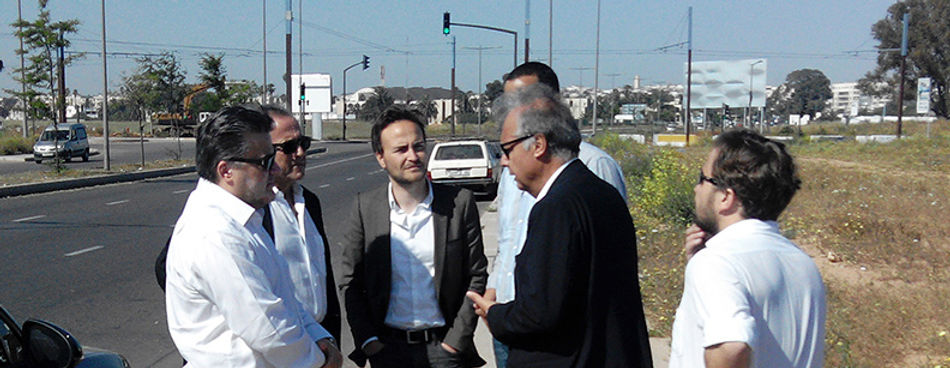 Amedee Santalo in Casablanca with Denis Valode