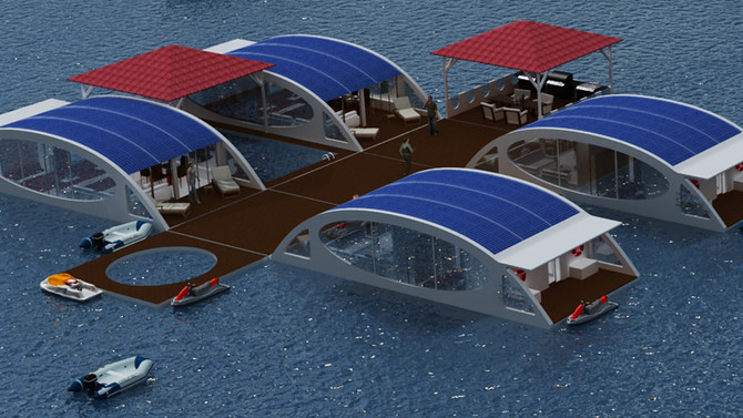 Floating Rooms for luxury hotel industry