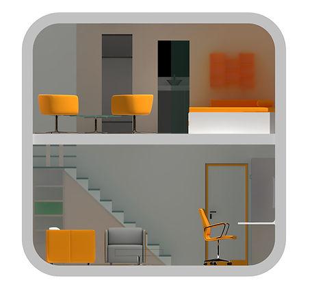 Cube Hotel by Amedee Santalo