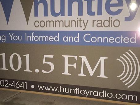 Radio Interview with Jignesh Patel of Huntley Community Radio.