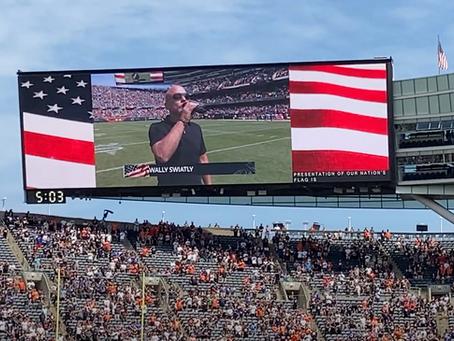 National Anthem @ Soldier Field.