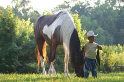 kenny - trail boss brtr grandchildren july 05-53