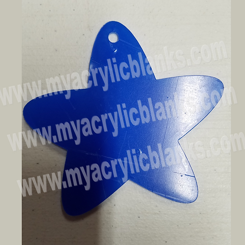 Star w/ Rounded Ends Ornament