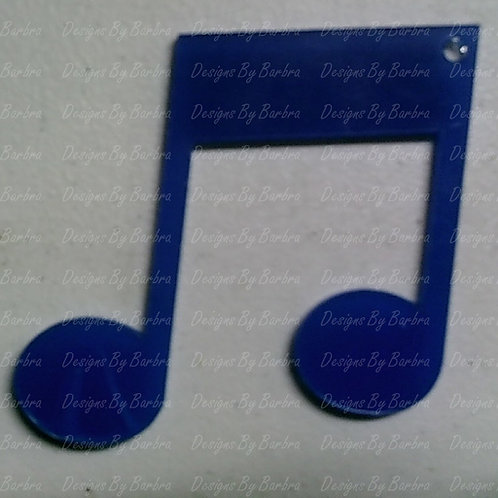 Music Note Double