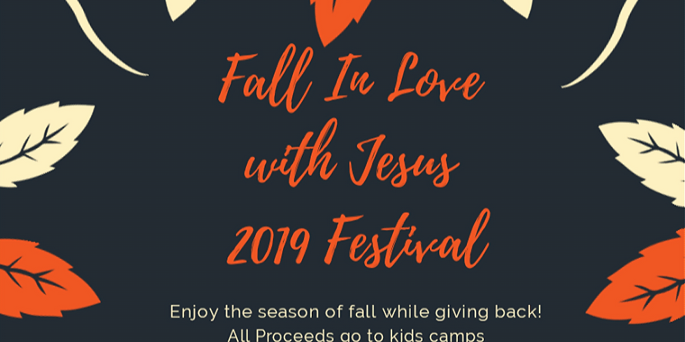 Fall in Love With Jesus 2019 Festival