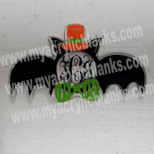 Halloween Bat Monogram